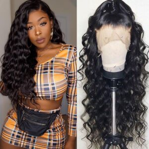 13x6 lace front wigs loose deep