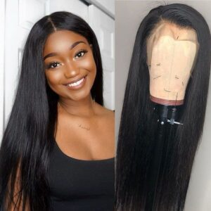 13x6 straight hair lace front wigs