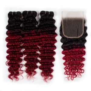 1b-red deep wave with closure