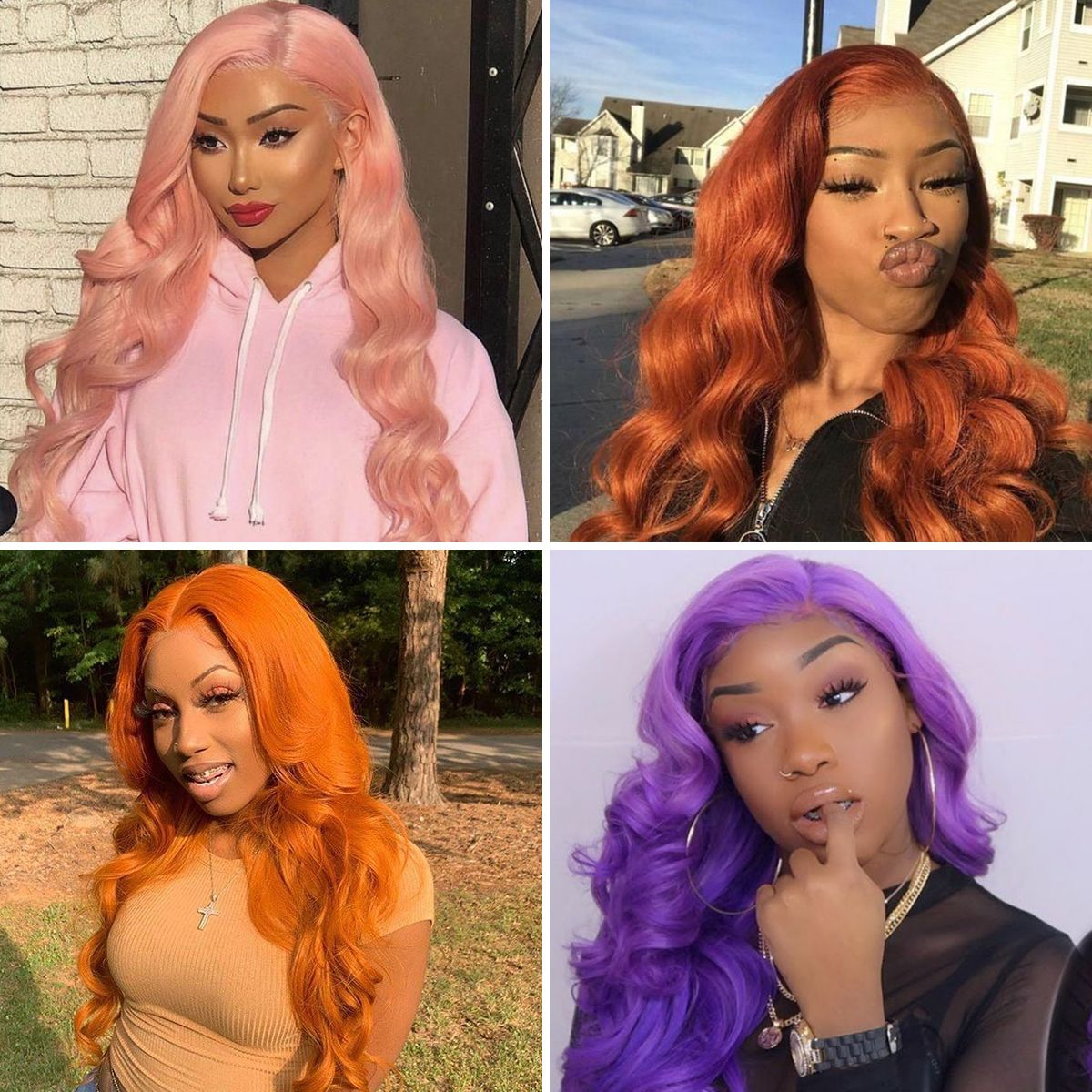 613 body wave lace front wig