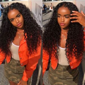 Loose deep 13x6 lace front wig