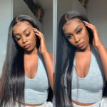 Straight 13x6 lace front wig