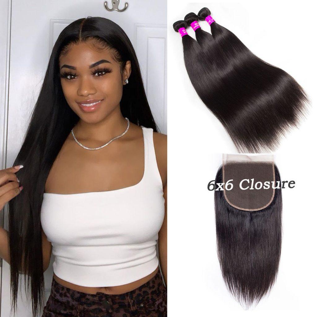 Tinashe-straight-hair-with-6×6-closure