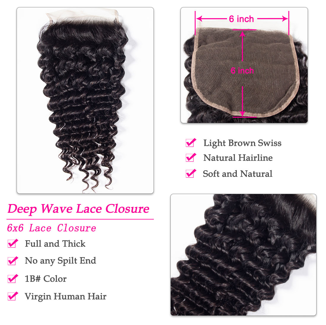 6x6 deep wave closure