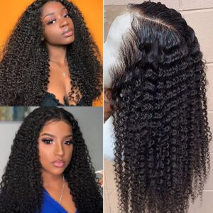 kinky curly full lace wigs