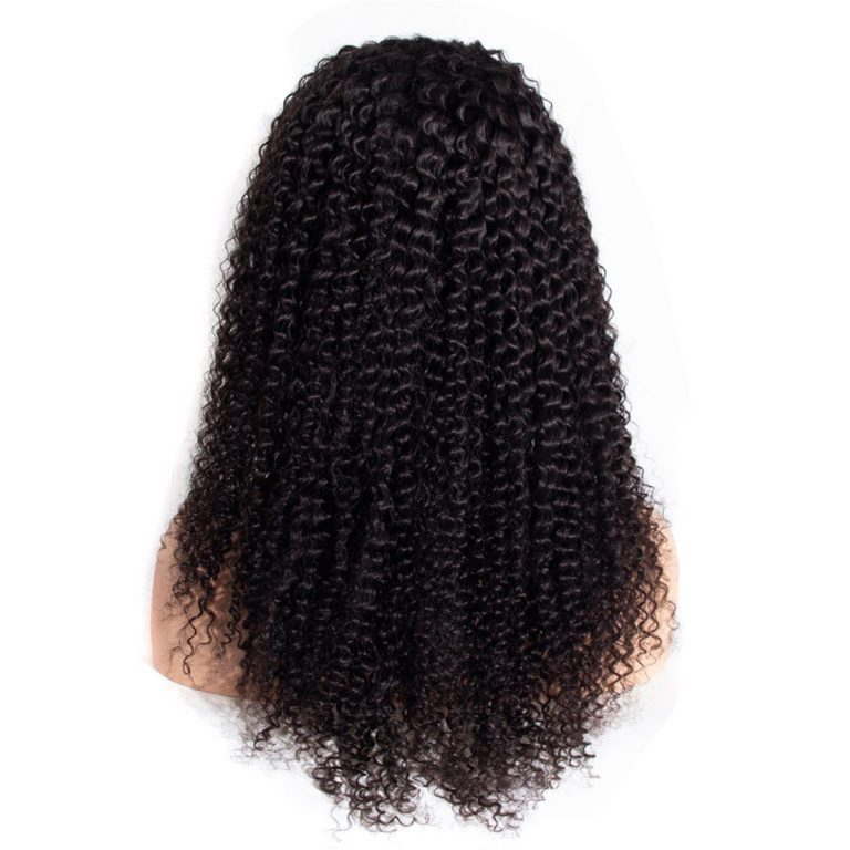 kinky curly lace front wig 1