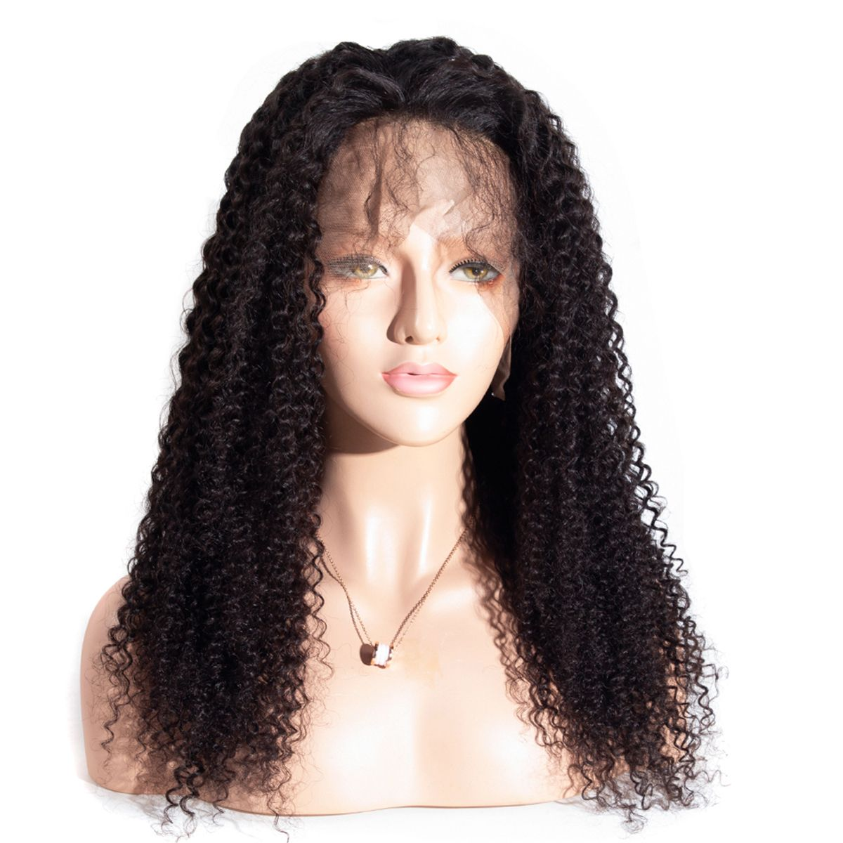 kinky curly lace front wig 2