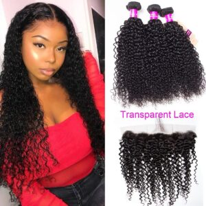 tinashe hair transparent lace frontal curly hair