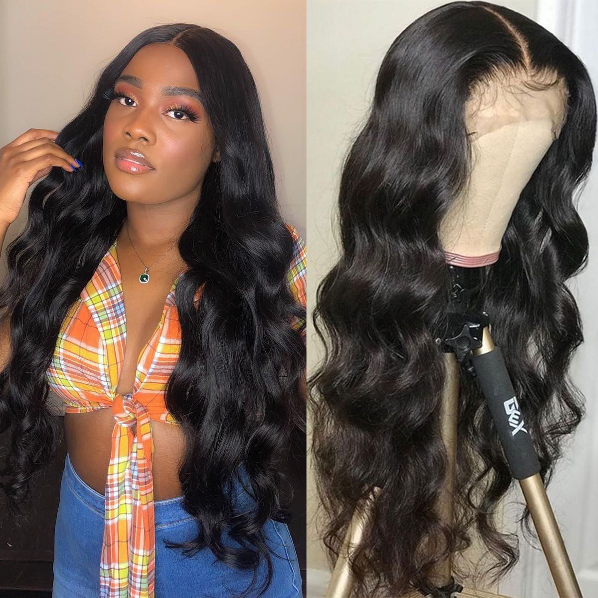 Body wave 13x4 lace front wig