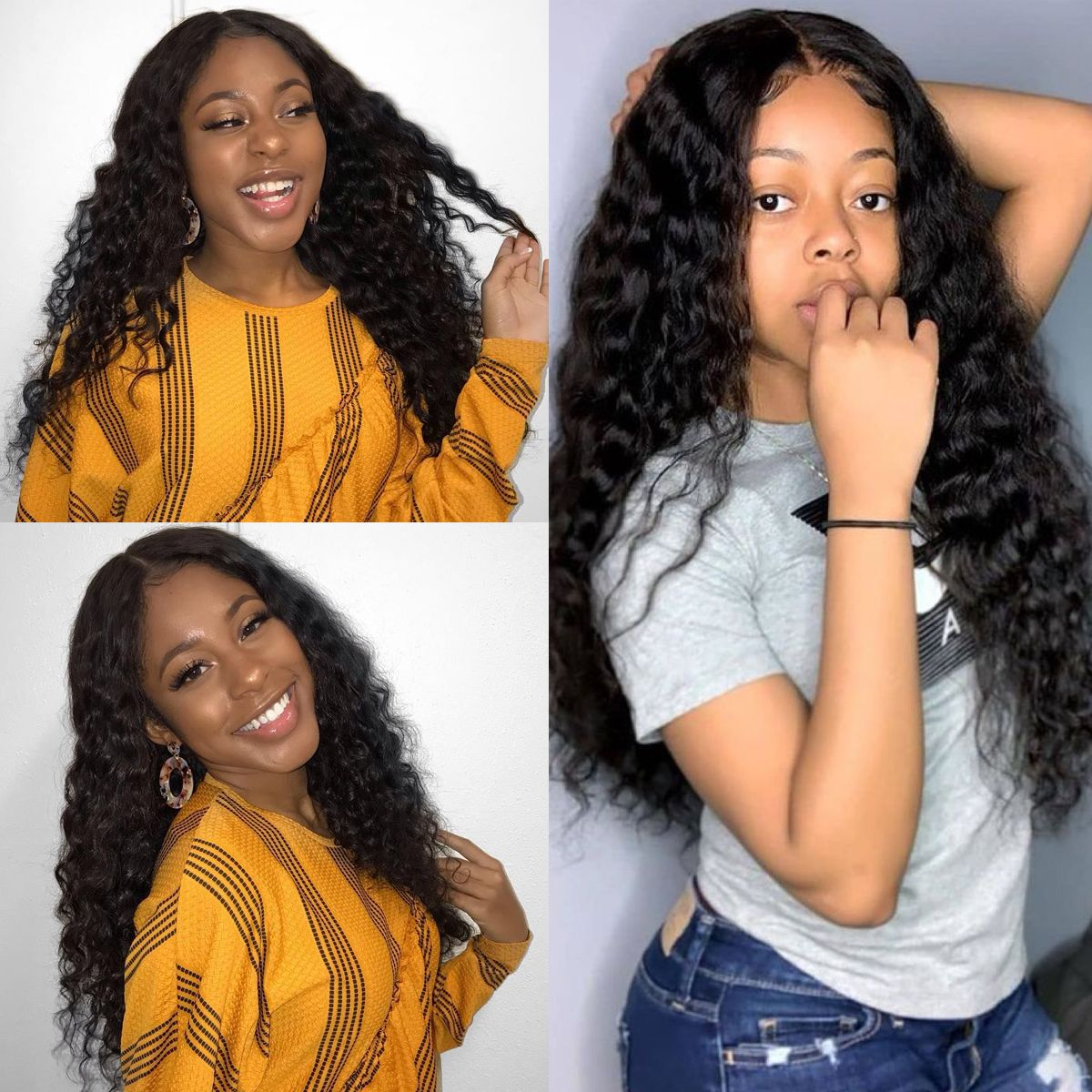 Loose deep- 13x4 lace front wig