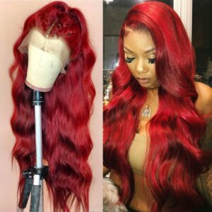 Red-body-wave-lace-front-wig