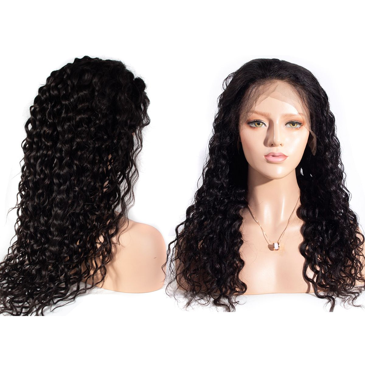 Water-wave 13x4-wig