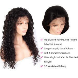 Water wave-13x4-wig