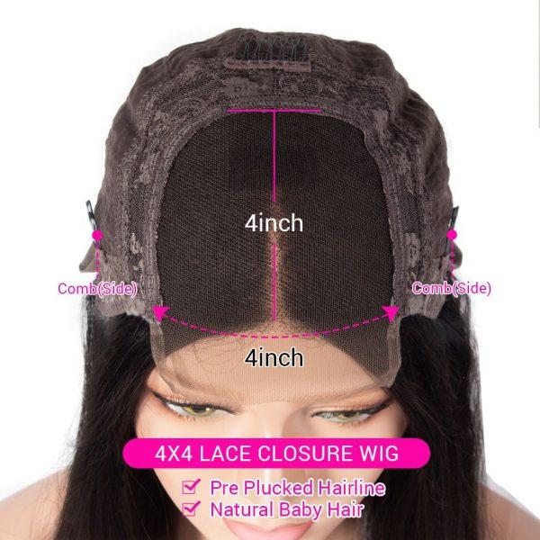 4x4 lace closure details