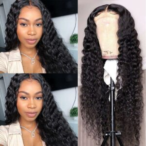 Deep-wave-lace-front-wig-250% density