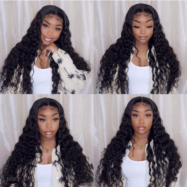 Loose Deep lace front wig 250%