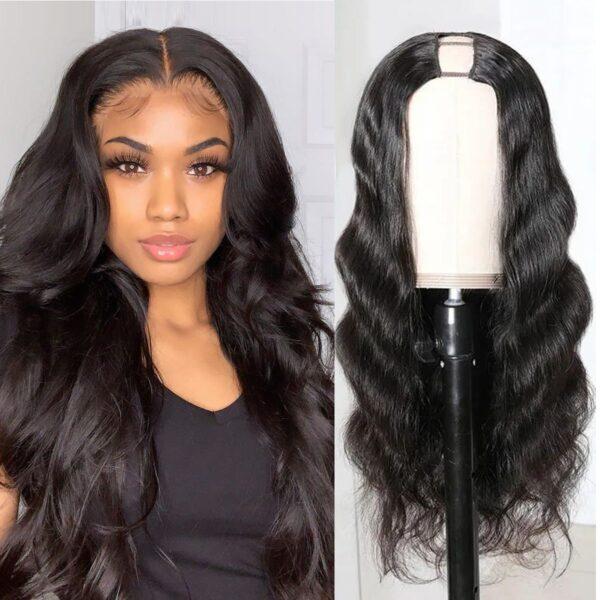 Body-wave-U-part-wig