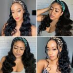 Body-wave-headband-wig-customer-show
