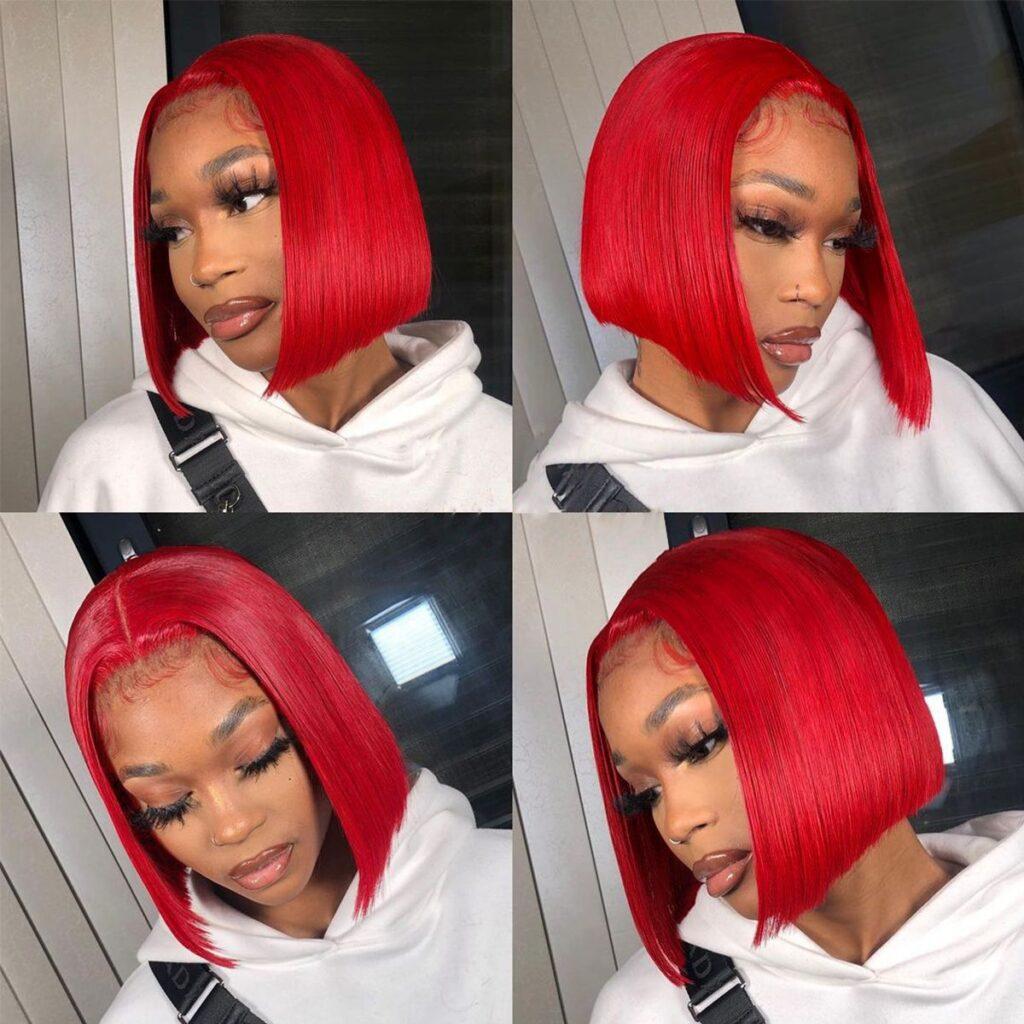 Red-bob-wigs
