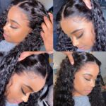 Curly 13x4 HD lace front wig