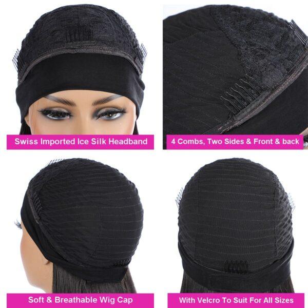 Headband Wig Details