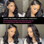 Body wave 13x4 lace wig detaill
